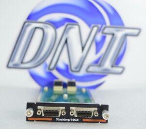 Dell-RNDV3-PowerConnect-Dual-Port-CX-4-10GbE-Uplink-SFP-Stacking-Module-JMW