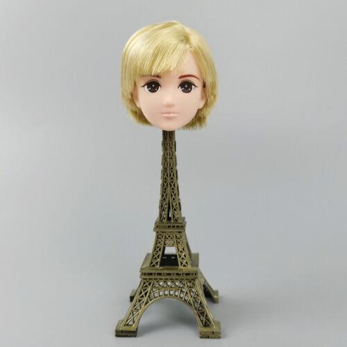 Soft High Quality DIY Doll Head For Licca Boy Doll Heads 1//6 Doll Accessories