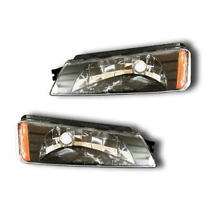 Fits 05-07 Jeep Liberty Left Right Turn Signal Parking Light Assembly 1 Pair