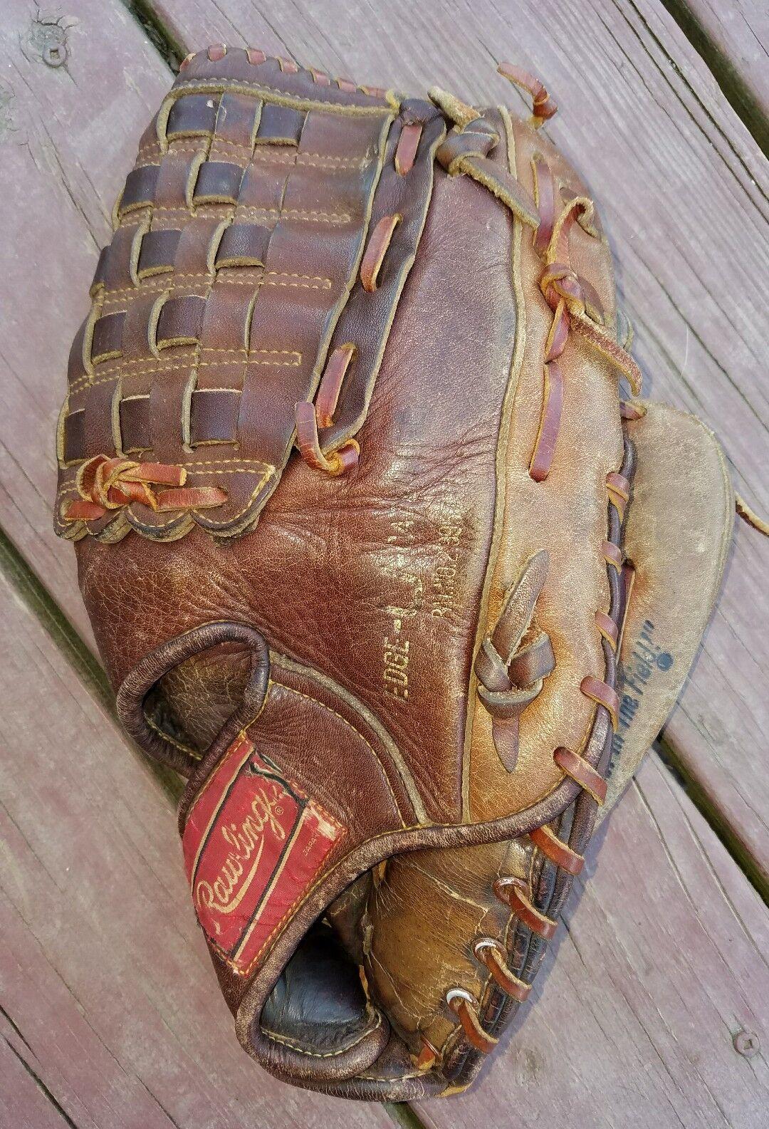 Vintage Raro Rawlings RA-75 75th aniversario 12.5  Guante de béisbol Mano Derecha-Throw