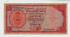 Libya 1/4 pound  1963 MB/BB  Poor/aGood  pick 23a lotto 112