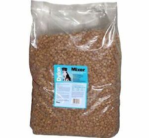 NEW-DYLAN-PREMIUM-12KG-DOG-FOOD-MEAT-MIXER-BISCUITS-BULK-SACK-CRUNCHY-MEAL