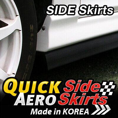 7 Feet x2 Side Skirts Spoiler Chin Lip Splitter Valence for KIA 2013-18 Forte K3