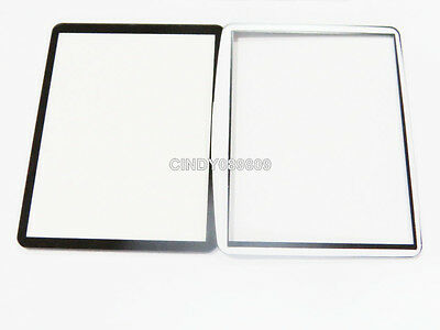New Outer LCD Screen Display Window Glass for Nikon DSLR D90 with Adhesive tape