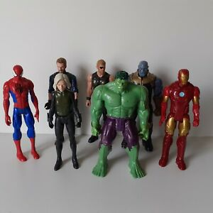 Marvel Avengers grande figura Bundle 11in-Hulk, Thor, vedova nera (1600)