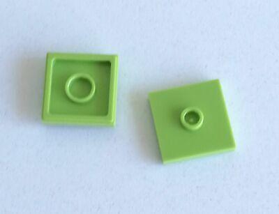 LEGO 10x Piastra Liscia Modificata 2x2 GRIGIO CHIARO 87580 23893 Lotto