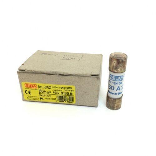 Cartridge Fuse 5012406/50A Siba 50-124-06/50A