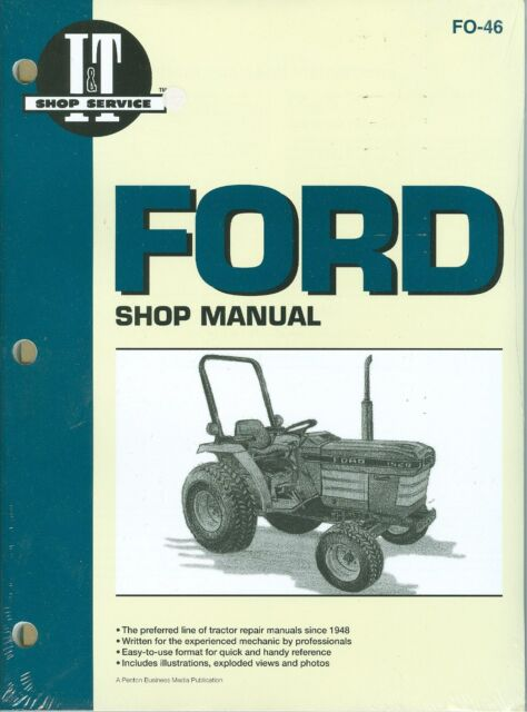 Ford Tractor Shop Manual