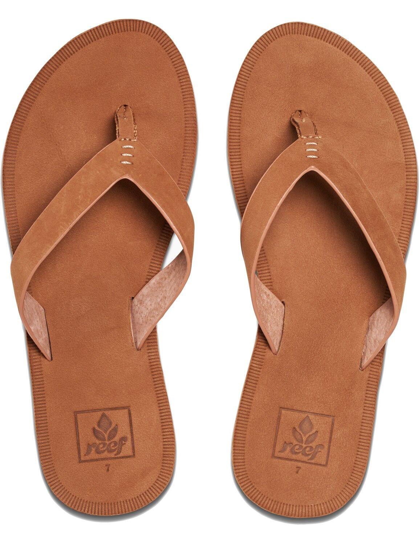 Reef tira dedo señora sandalias de playa chancletas
