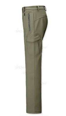 88 Outdoor Warm WATERPROOF Hiking Ski camping Hunting Fleece Trousers Army pants