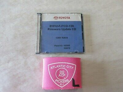 TOYOTA LEXUS OTC TOOL 01012-FJTCD-13A FIRMWARE UPDATE CD 13MY RAV 4   eBay