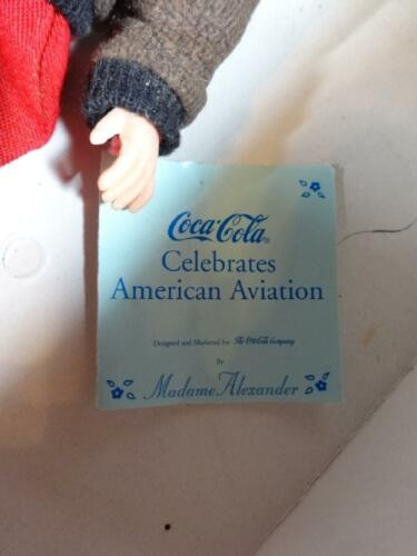 Madame Alexander Coca-Cola American Aviation 17380 Im Ruhestand Puppe Puppen & Zubehör Sonstige Original