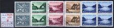 Svizzera - 1956 - Pro Patria - MNH - n. 576/580 - Quartine