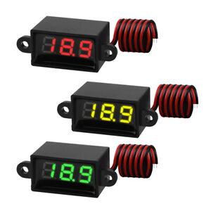 3-PCS-Mini-Digital-DC-Voltmeter-0-28-Inch-Two-Wire-3-0V-30V-Digital-Voltmeter-US
