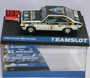 Objectif Team Slot 12703 Ford Escort Mkii Rs2000 #9 Tour Britain 1973 Vatanen-bryant Valeur Formidable