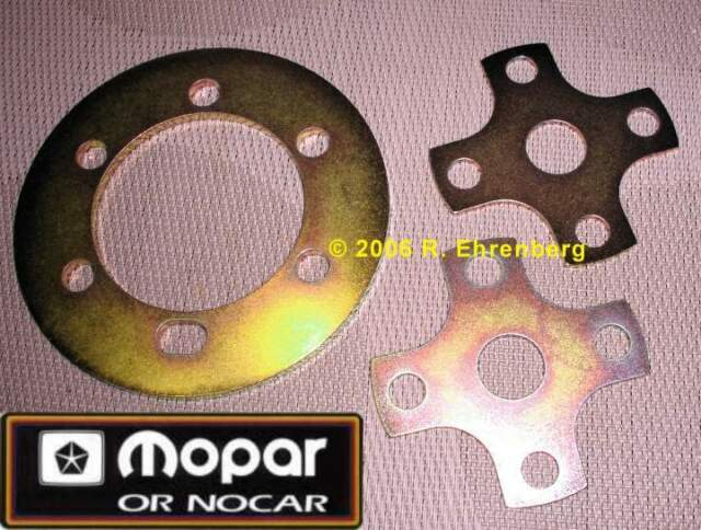 Mopar Pulley Alignment Shim Kit 318 340 360 383 440 Hemi Plymouth Dodge Chrysler