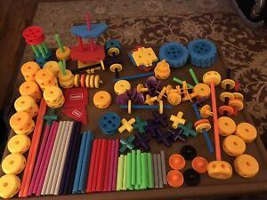 Playskool-Tinker-Toys-Plastic