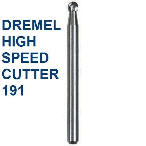 NEW DREMEL AUTHENTIC HIGH SPEED CUTTER BIT #191 HIGH GRADE STEEL,SPEED CUTTER