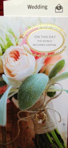 75 HALLMARK WEDDING CARD MONEY//GIFT CARD HOLDER   7 to Choose From