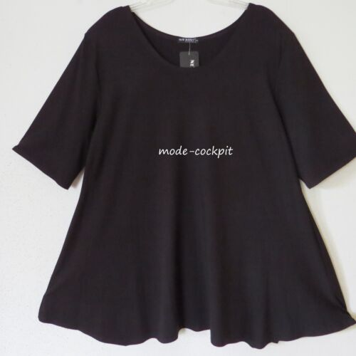 Tunic A corta Long 50 52 line Black Manica Super New Shirt Jersey Great 3xl 68wBxYZqE