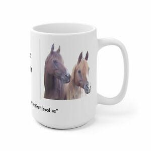 Arabian horses/Sisters/ Forever/ Gift/ birthday/Horse Lover/  Ceramic Mug 11oz o
