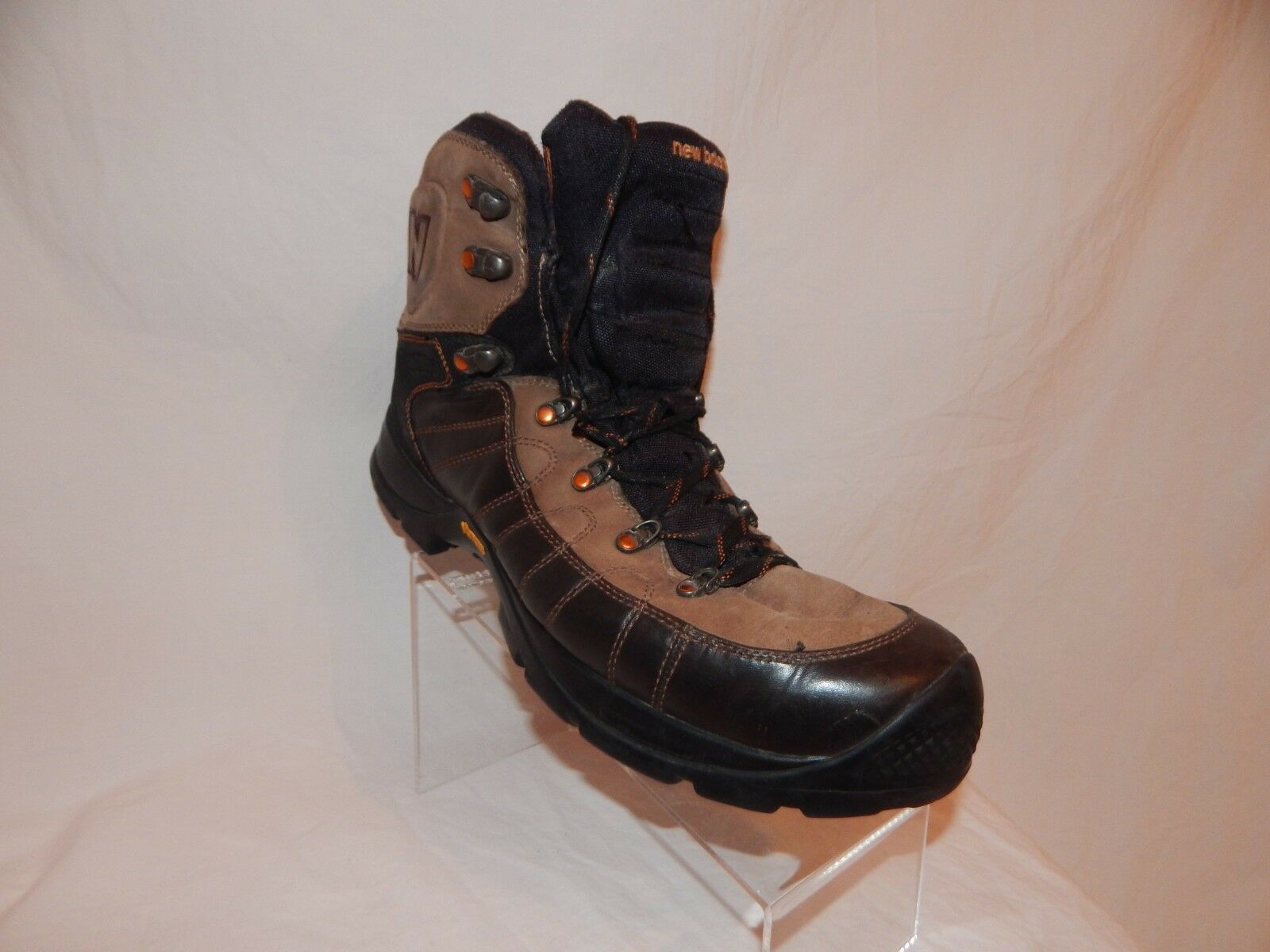 New Balance Rainer MO1500GT Men's Size 14 US Hiking Boots Vibram Gore-Tex Brown