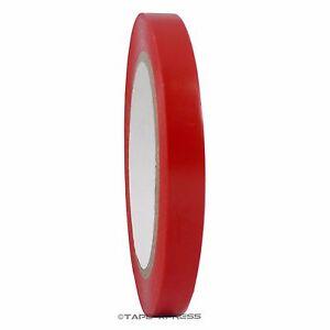 """1/2"""" x 108' Red Vinyl Adhesive Pinstriping Tape Lane Marking Car Decor Strip"""