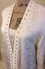 St John Collection 2 Piece Cardigan Set Size M
