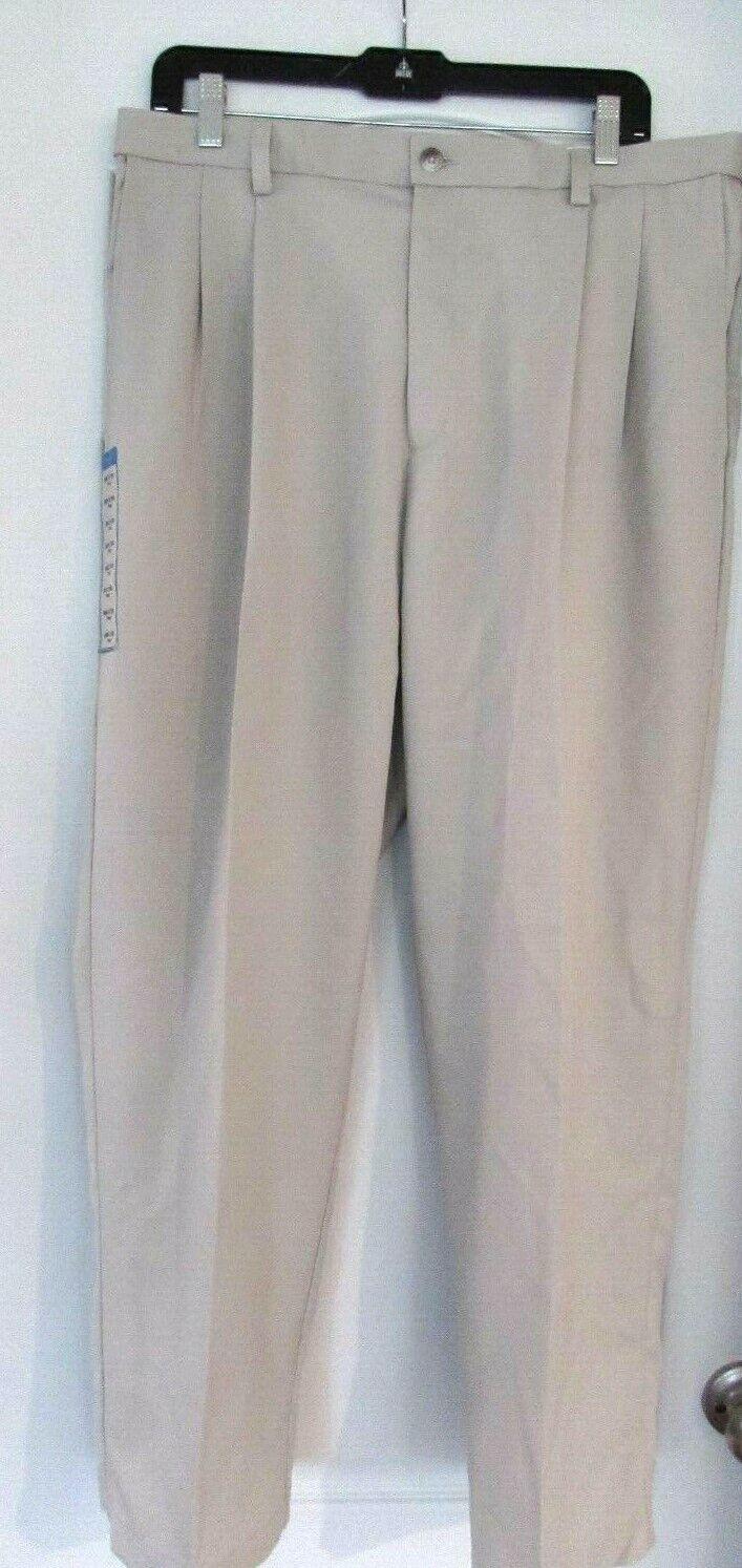 Men's Size Haggar Pant Classic Fit Cool 18 Pro 36W X 29L  String  color Comfort