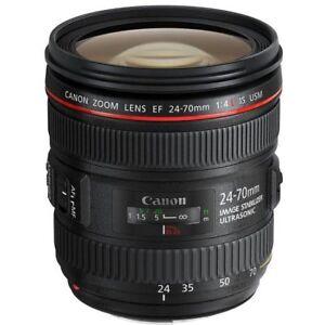 Canon 24-70mm f/4L IS USM Lens for Digital SLR DSLR Cameras Bodies 13803147773
