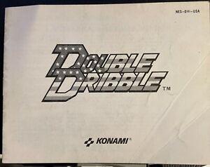 Notice Double Dribble pour Nes