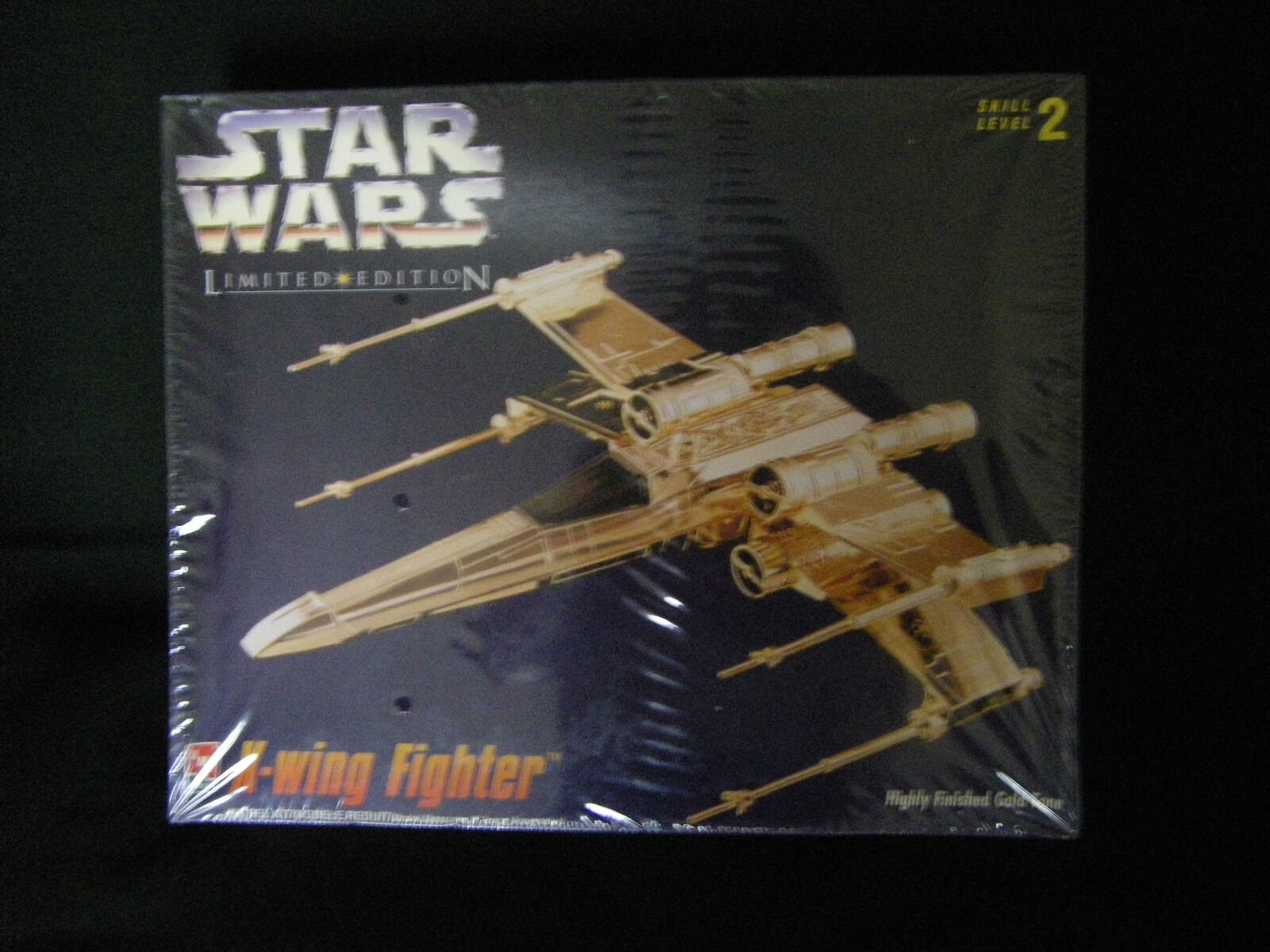 Star Wars X-Wing Fighter AMT Highly Finished Gold Tone