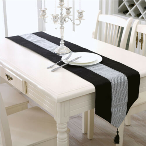 Modern Table Runner Flannel Table Marriage Runners Pillow Case Table Mat v