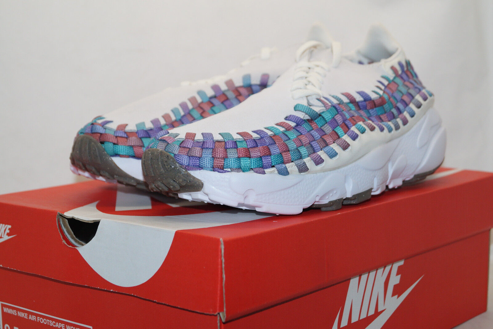 Nike Wmns Air Footscape Woven EU 41 UK 7 Suede 917698 100