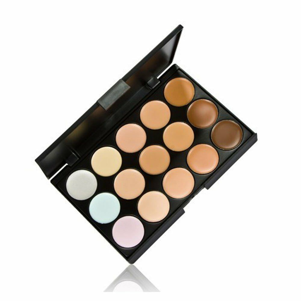 eBay India Offer Buy WaterProof 15 Color Facial Concealer Fashion Makeup Palette, EyeShadow at Rs. 349