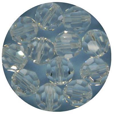 Genuine Swarovski Clear Crystal ROUND Crystal Beads