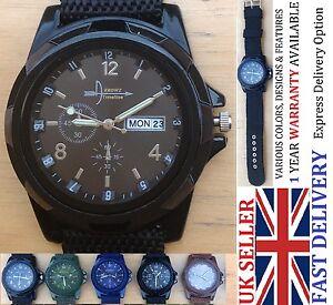 FANTERIA-Militare-dell-039-Esercito-Fashion-Business-Sport-Orologio-da-polso-uomini-Donne-BOY-UK