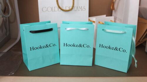 personalised extra small paper bags pack of 100 bags .Handmade Custom printed