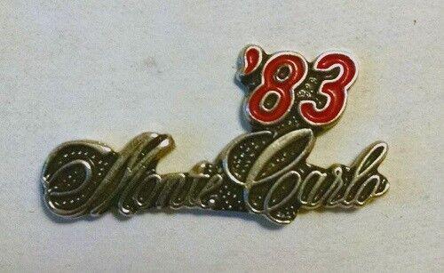 1983 Chevrolet MONTE CARLO Hat//Lapel Pin