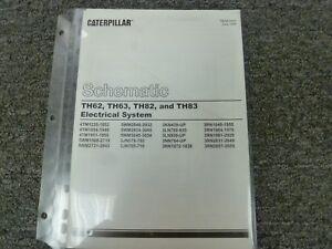 caterpillar cat th62 th63 th82 th83 telehandler electrical wiringimage is loading caterpillar cat th62 th63 th82 th83 telehandler electrical