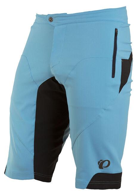 Pearl Izumi 2017 Summit Mountain Bike MTB Shorts Blau Mist - Medium