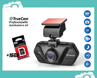 FULL HD 1020p Auto Kamera TRUECAM A4 Dashcam Video Überwachung Unfall 2,7'' 16GB