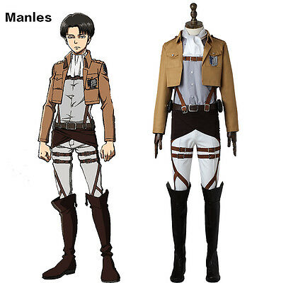 Attack on Titan Shingeki no Kyojin Scout Legion Cosplay Costume Anime Outfit