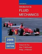 Introduction to Fluid Mechanics - 6th Edition Robert Fox Alan McDonald Pritchard
