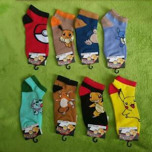 Sneaker-Socken-Pokemon-Pikachu-Evoli-amp-Co-1-Paar-VA