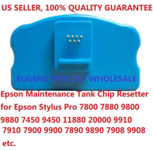 Epson Maintenance Tank Chip Resetter 7880 9890 9908 11880 20000 9880 9450 7450