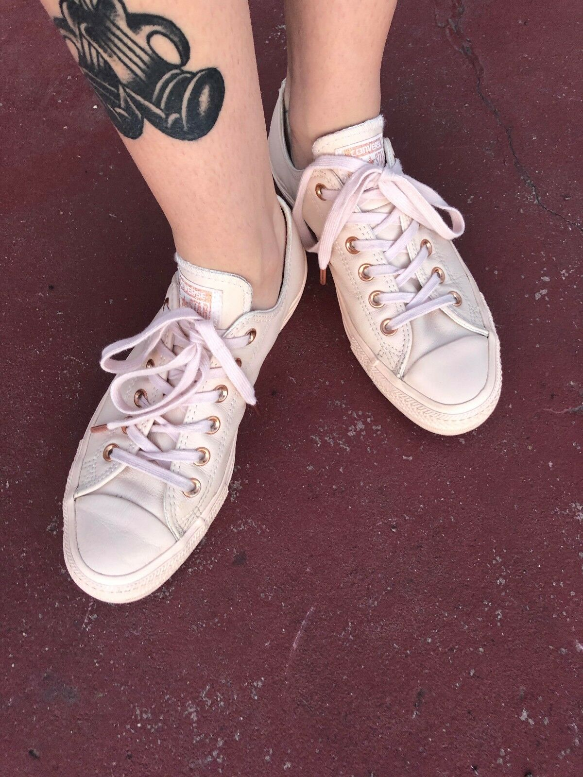 Converse All Star Ox Leather Holliday Nude Collection Size 9 (limited edition)