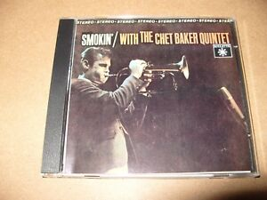 Chet-Baker-Quintet-Smokin-6-Track-cd-Nippon-1985-cd-is-Ex-Booklet-is-VG