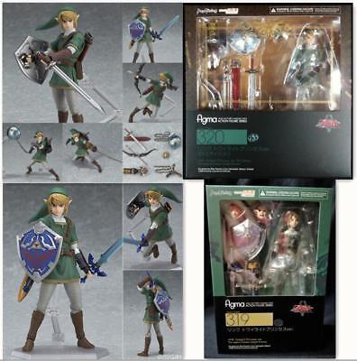 Figma 320The Legend of Zelda LINK Twilight Princess Ver DX Edition Figure IN box