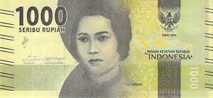INDONESIA-1000-Rupiah-2016-P-154-UNC-Free-to-combine-Low-Shipping